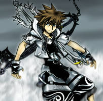 Sora Final Form by Cloudy-wolf