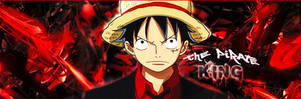 Pirate King signature (Luffy from One Piece)