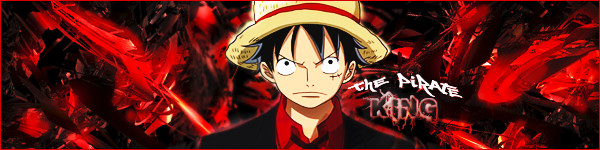 Pirate King signature (Luffy from One Piece) by YinYangSplit