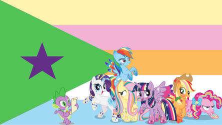 Mlp Flag by MonsterPon3