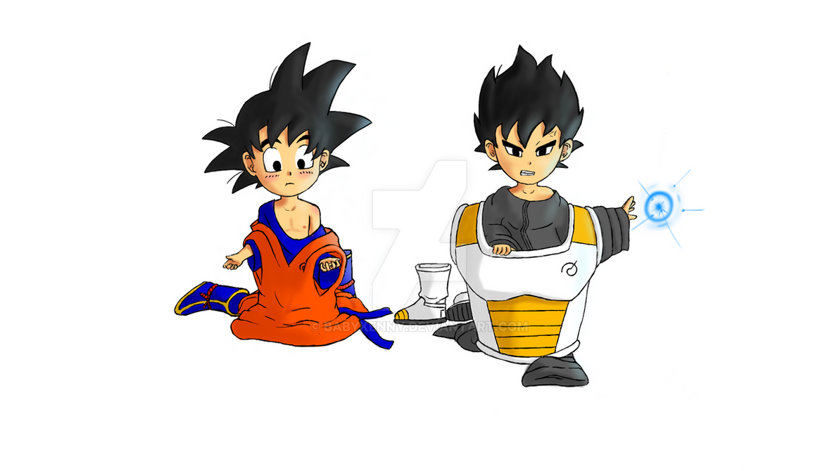 Goku Vegeta Ar By Babykenny On Deviantart