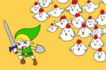 o Link vs Chickens o