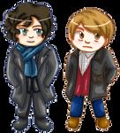 o Sherlock and John o