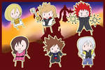 o Kingdom Hearts Chibis o