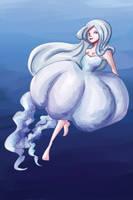 Jellyfish Girl by khiro