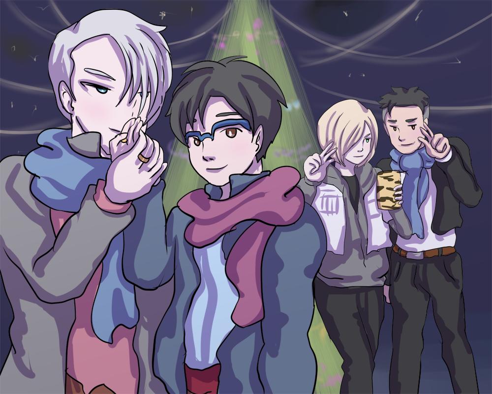 Yuri on Ice Christmas by khiro