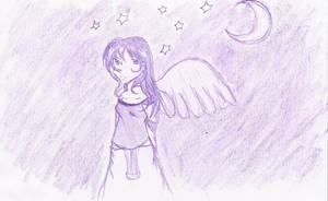 Purple Sky by khiro