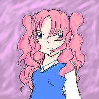 Pink Haired Girl by khiro