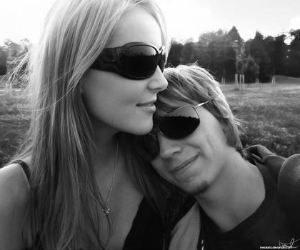 Couple - Fantastic evenfall