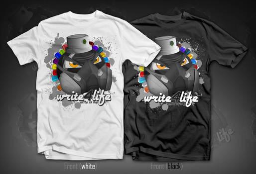 t-Shirt Design - Write4life
