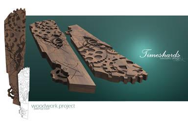Timeshards - woodwork