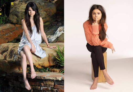 Selena Gomez feet pics again