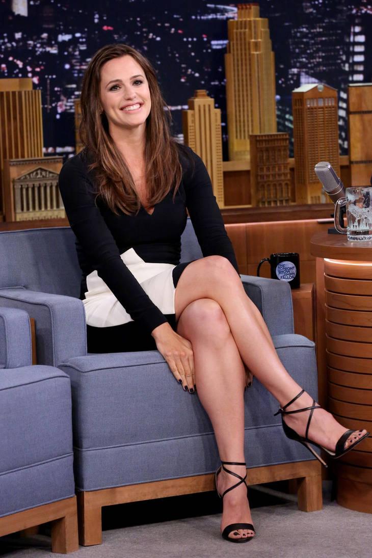 Sexy television leg