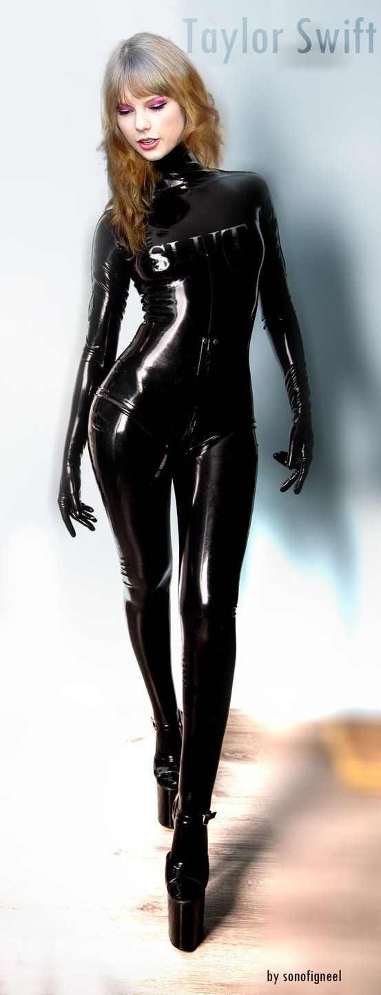Taylor Swift Wearing Latex 2 By Goddessgg On Deviantart