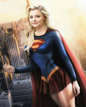 Goddess Supergirl Chloe Moretz.