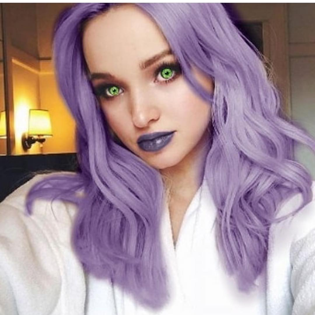 Goddess Dove Cameron With Light Purplish Hair By Goddessgg On Deviantart