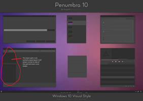 Penumbra 10   Windows 10 Visual Style By Scope10 D by siddh315