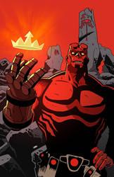Hellboy by Cabbral