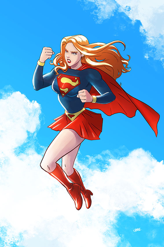 SuperGirl by Cabbral