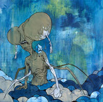 Cloud Walker by alexpardee
