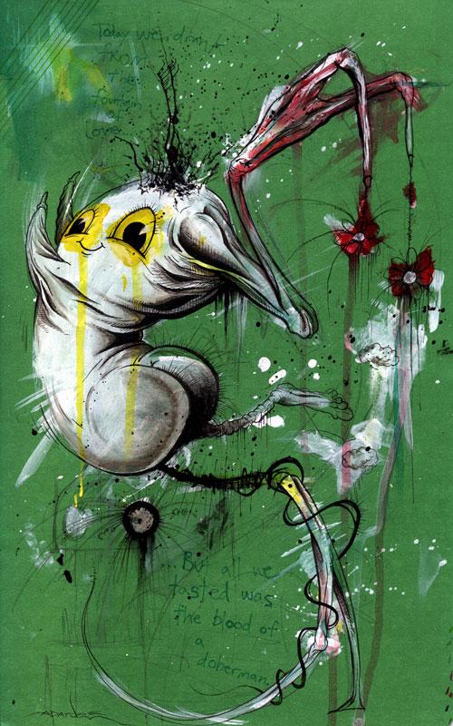 Doberman Blood by alexpardee