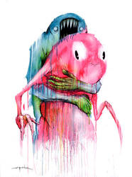 The Hug by alexpardee