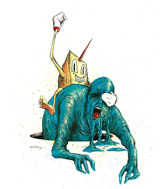 Chud Surfing 1 by alexpardee