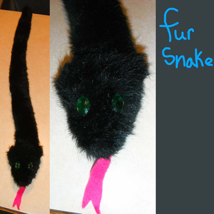 Craft furry little snake by alicedarabbit on deviantart for Furry craft
