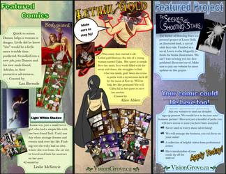 Class work: Tri-Fold Brochure by AliceDaRabbit