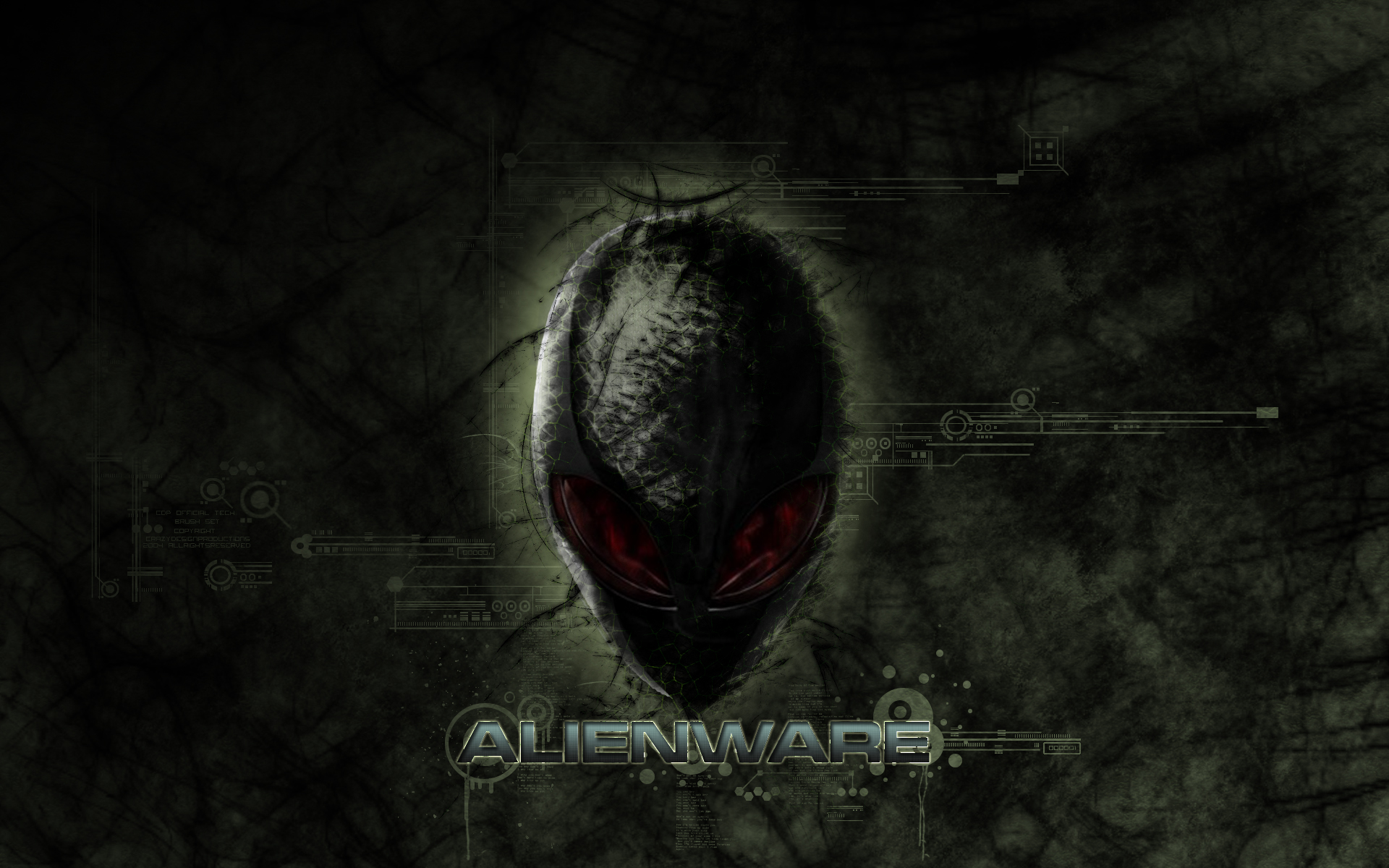 Alienware Wallpaper by hod-master