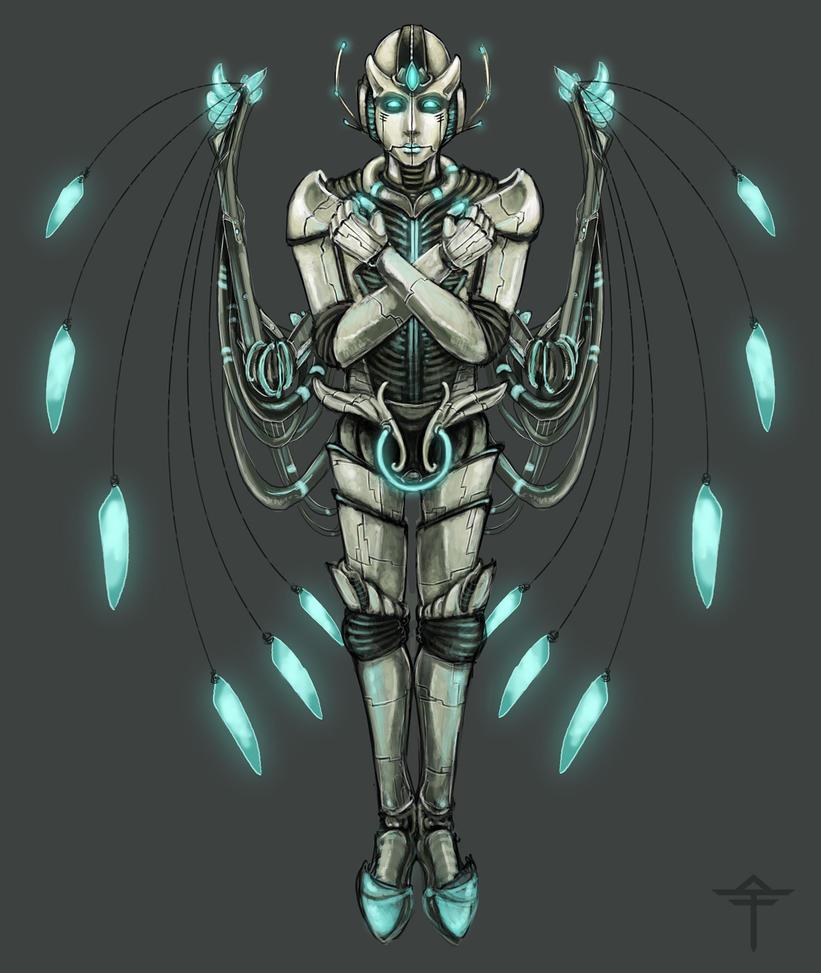 Robot Tritium by Cnids