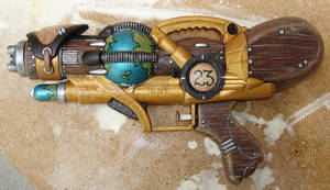Steampunk Explorer gun by Cnids