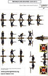 Prussian line infantry by Comradesoldat