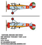 1/72 Iranian Hawker Persian fury mk. II biplane by Comradesoldat