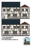 1/72nd Fachwerkhaus by Comradesoldat