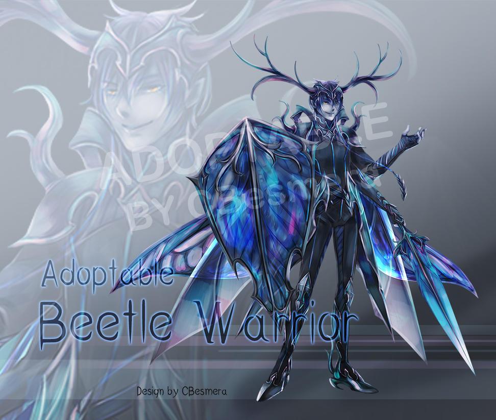 Beetle Warrior Adoptable [Closed] by CBesmera