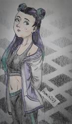 Dark emo/kawaii girl - OC...? by rexmin203
