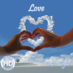 Love - A.P. Light (CD Cover) by HeavensDisciples