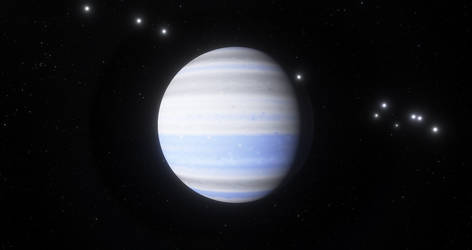 Planet Cyricus in the Atlantica System