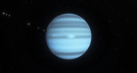 Planet Dahlia in the Atlantica System