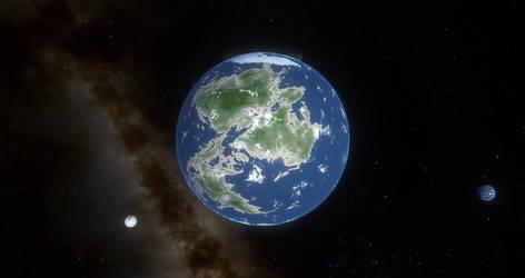 Planet Genova in the Atlantica System