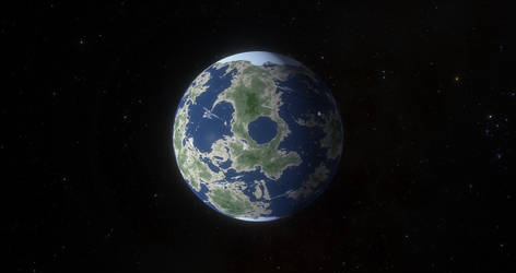 Planet Helion in the Atlantica System