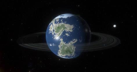 Planet Pacifica Prime in the Atlantica System
