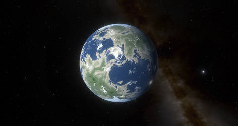 Planet Sayon in the Atlantica System