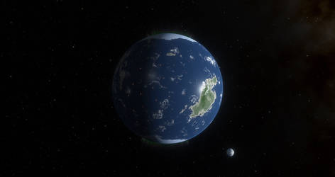 Planet Visaya in the Atlantica System