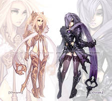 Adoptables: Dusk and Dawn. [CLOSED]