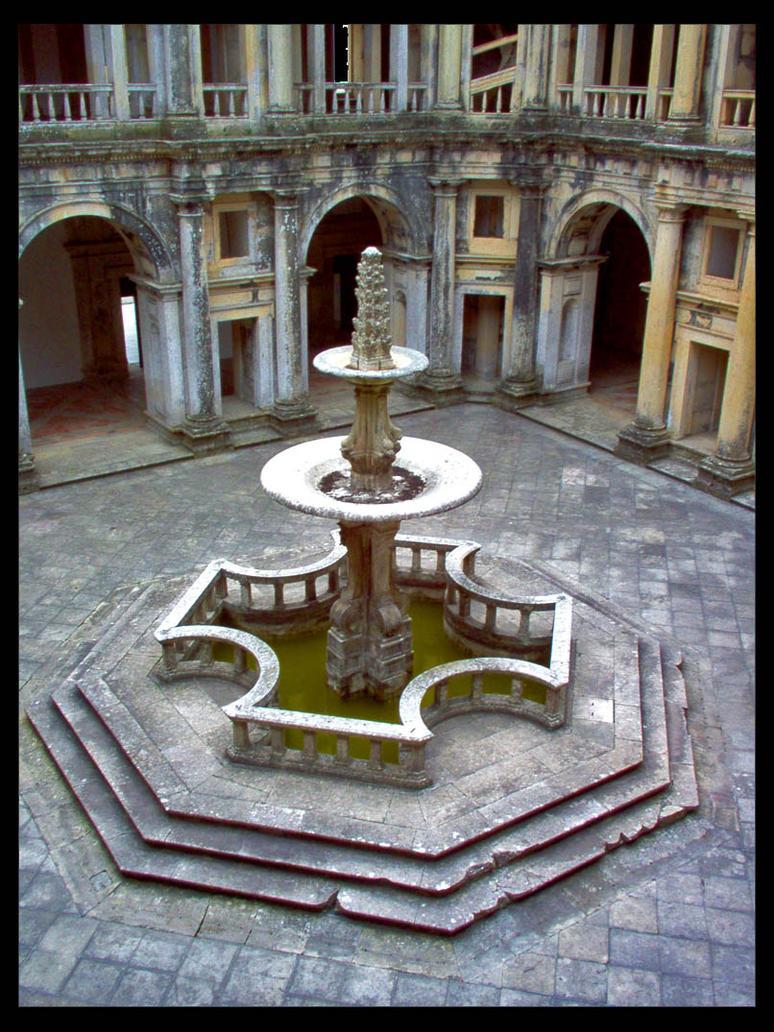 Templar Fountain by morningeuphoria