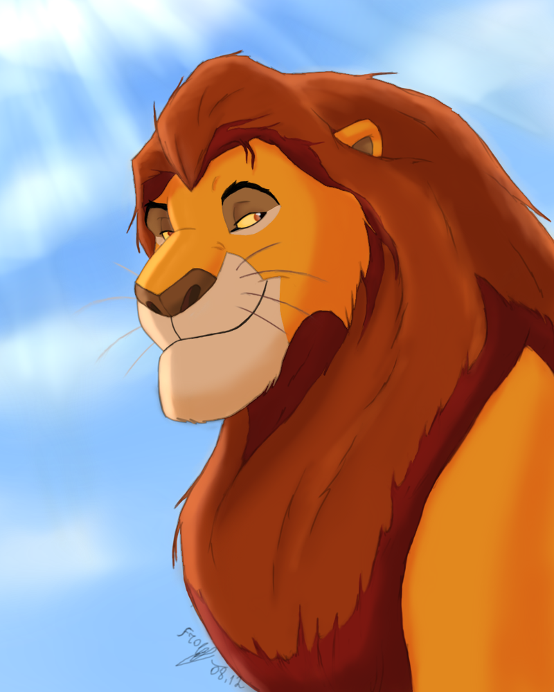 Mufasa by FrolJoker on DeviantArt