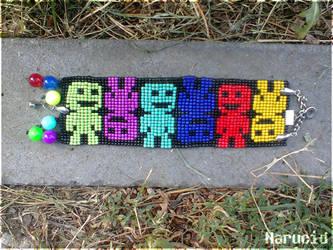 VVVVVV bead bracelet by Narucid