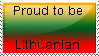 Proud to be Lithuanian by Borkowskis